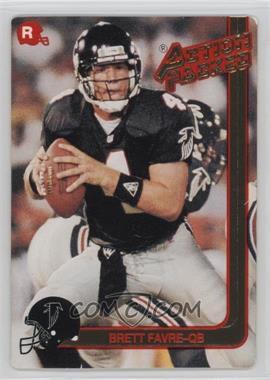 1991 Action Packed Rookies - [Base] #21 - Brett Favre