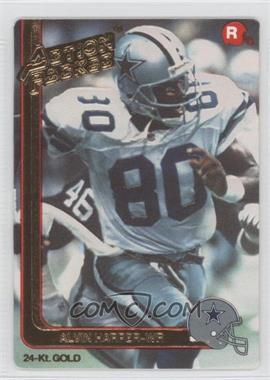 1991 Action Packed Rookies Gold #11G - Alvin Harper