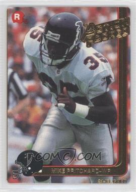 1991 Action Packed Rookies Gold #12G - Mike Pritchard