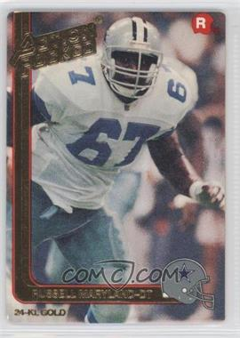 1991 Action Packed Rookies Gold #1G - Russell Maryland