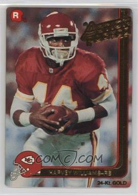 1991 Action Packed Rookies Gold #20G - Harvey Williams