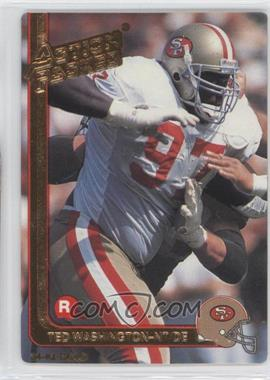 1991 Action Packed Rookies Gold #24G - Ted Washington