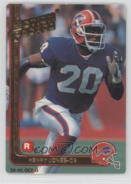 1991 Action Packed Rookies Gold #25G - Henry Jones