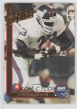 1991 Action Packed Rookies Gold #26G - Jarrod Bunch