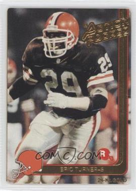 1991 Action Packed Rookies Gold #2G - Eric Turner