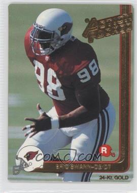 1991 Action Packed Rookies Gold #5G - Eric Swann