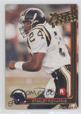 1991 Action Packed Rookies Gold #8G - Stanley Richard