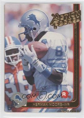 1991 Action Packed Rookies Gold #9G - Herman Moore