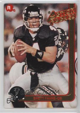 1991 Action Packed Rookies #21 - Brett Favre