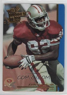 1991 Action Packed The All-Madden Team - [Base] - 24 Kt. Gold #44G - John Taylor