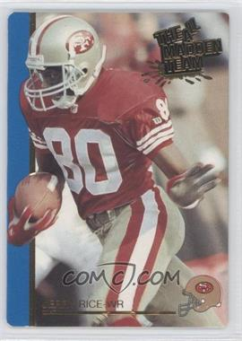 1991 Action Packed The All-Madden Team - [Base] #43 - Jerry Rice