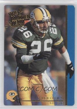 1991 Action Packed The All-Madden Team 24 Kt. Gold #23G - Chuck Cecil