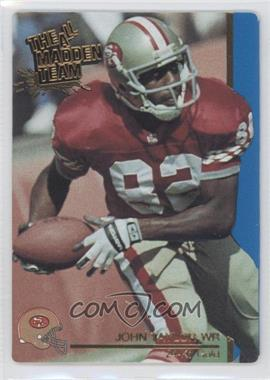 1991 Action Packed The All-Madden Team 24 Kt. Gold #44G - John Taylor
