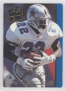 1991 Action Packed The All-Madden Team #27 - Emmitt Smith