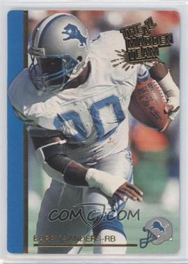 1991 Action Packed The All-Madden Team #30 - Barry Sanders