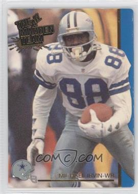1991 Action Packed The All-Madden Team #41 - Michael Irvin