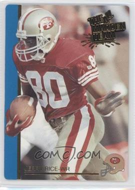 1991 Action Packed The All-Madden Team #43 - Jerry Rice