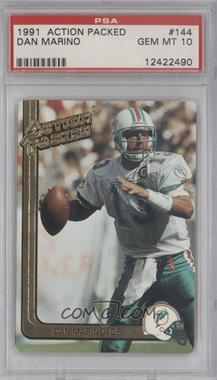 1991 Action Packed #144 - Dan Marino [PSA 10]