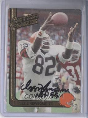 1991 Action Packed #50 - Ozzie Newsome [JSA Certified Auto]