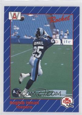 1991 All World CFL - [Base] #110 - Rocket Ismail