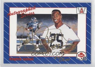 1991 All World CFL - [Base] #1.2 - Rocket Ismail (Autographed) /1600