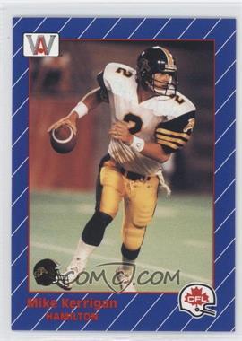1991 All World CFL - [Base] #54 - Mike Kenn