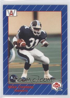 1991 All World CFL - [Base] #86 - Michael Clemons