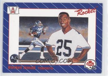 1991 All World CFL #1 - Rocket Ismail