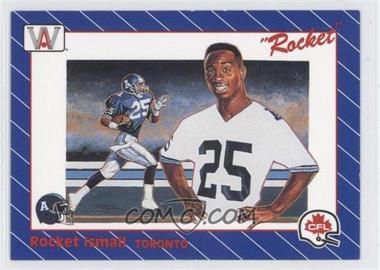 1991 All World CFL #1 - Rocket Ismail