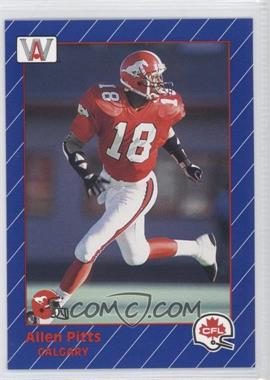 1991 All World CFL #32 - Allen Pinkett