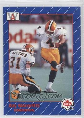 1991 All World CFL #41 - [Missing]