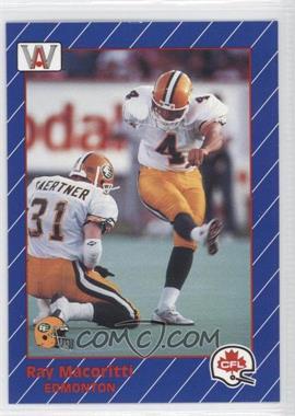1991 All World CFL #41 - Ray May