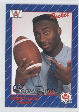 1991 All World CFL #68 - Rocket Ismail
