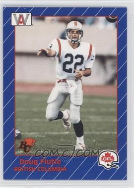 1991 All World CFL #7 - Doug Flutie