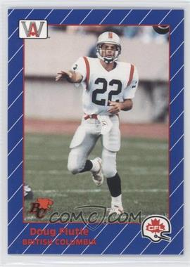 1991 All World CFL #7 - Doug Flutie