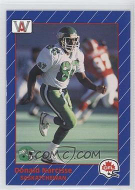 1991 All World CFL #81 - Donald Narcisse