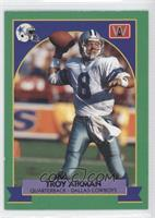 Troy Aikman (Green Border French)