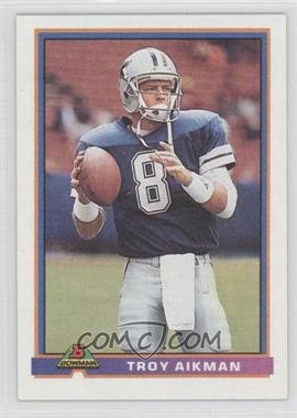 1991 Bowman - [Base] #113 - Troy Aikman