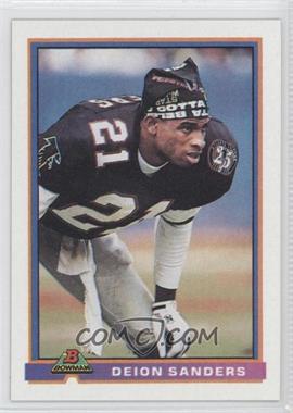 1991 Bowman - [Base] #15 - Deion Sanders