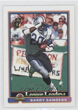 1991 Bowman - [Base] #273 - Barry Sanders