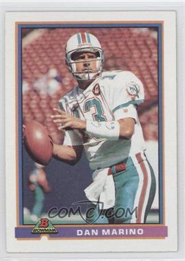 1991 Bowman - [Base] #285 - Dan Marino
