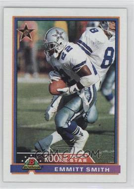 1991 Bowman - [Base] #3 - Emmitt Smith