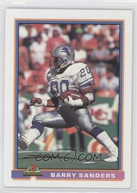 1991 Bowman #153 - Barry Sanders