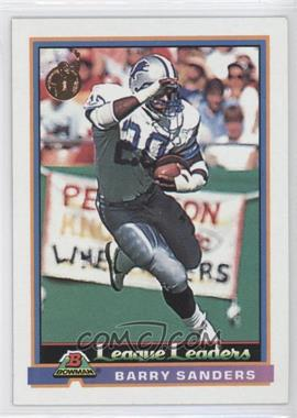 1991 Bowman #273 - Barry Sanders