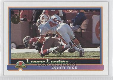 1991 Bowman #274 - Jerry Rice