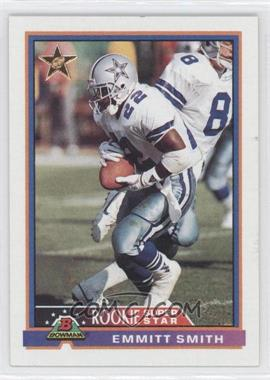 1991 Bowman #3 - Emmitt Smith