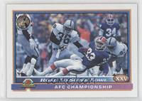 AFC Championship (Buffalo Bills, L.A. Raiders)