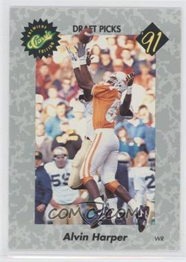 1991 Classic Draft Picks #11 - Alvin Harper