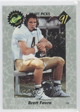 1991 Classic Draft Picks #30 - Brett Favre