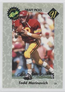 1991 Classic Draft Picks #31 - Browning Nagle
